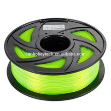 SGS ROHS 3D Printer Filament 1KG PLA+/ABS/PLA 1.75/3.0mm Plastic Rods Upgraded Quality for Reprap/ MakerBot/Delta Printer PLA+