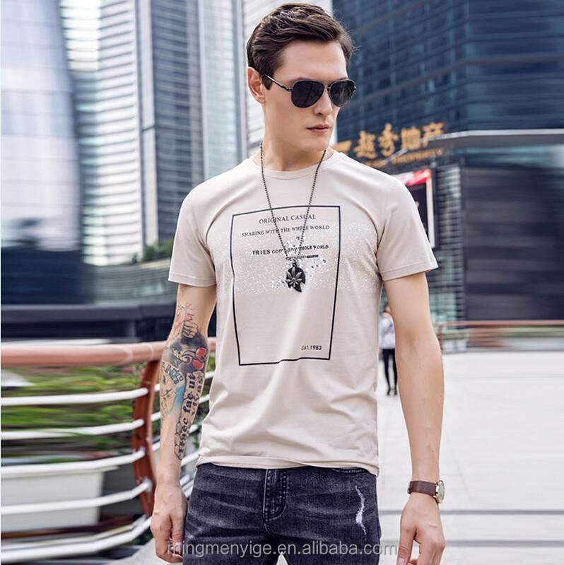Мужчины футболка 100% хлопок In китайская фабрика