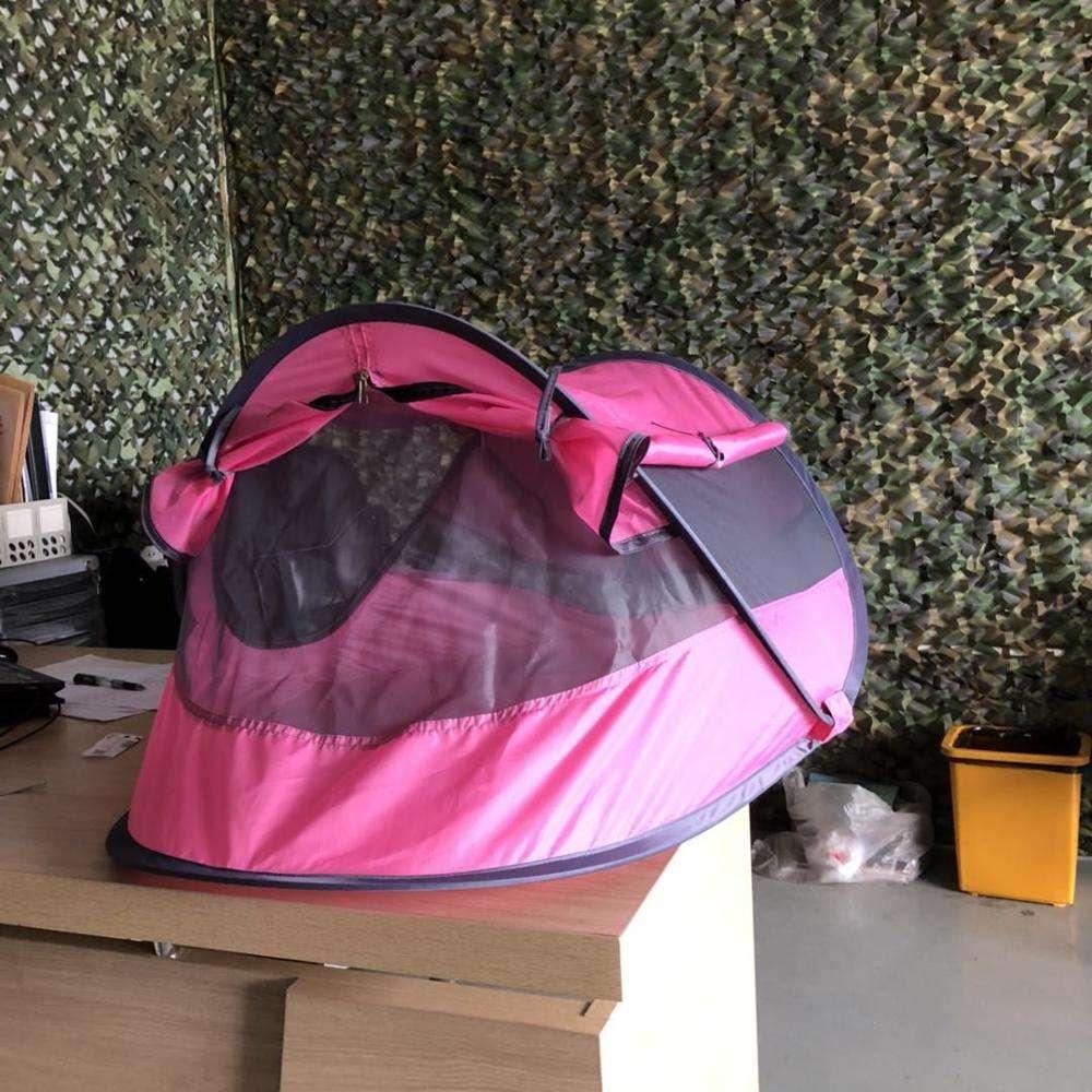 Màu hồng Bé Bãi Biển Lều, Bé Xách Tay Du Lịch Giường UPF 50 + Mặt Trời Nơi Trú Ẩn cho Trẻ Sơ Sinh, CZX-75B Pop Up Muỗi Net