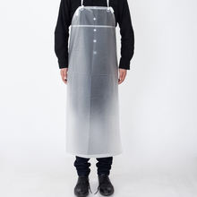 Industrial waterproof Vinyl white long apron transparent pvc apron