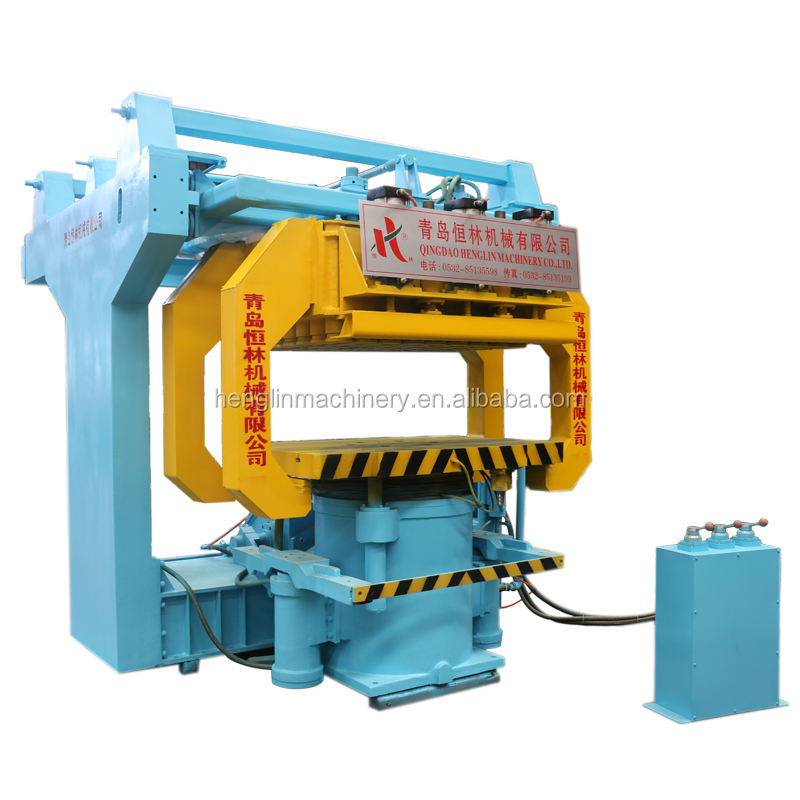 Foundry metal casting jolt squeeze molding/mould machine,sand casting equipment