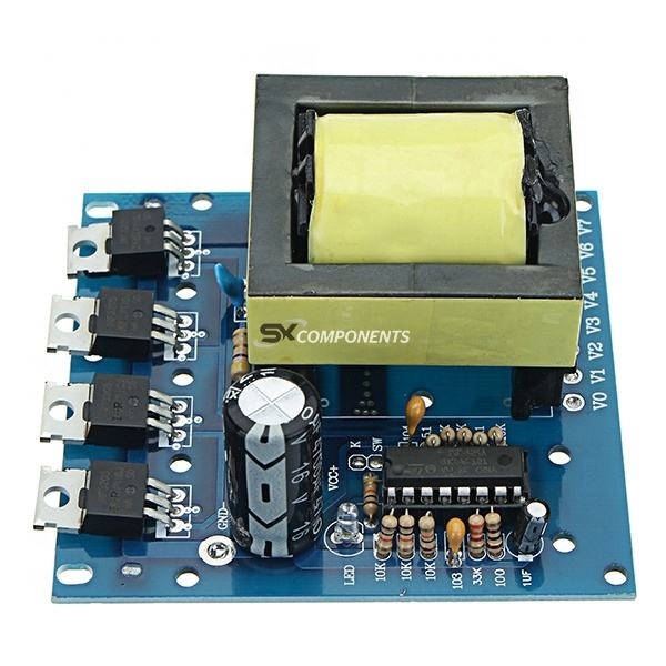 500W DC 12V 16V To AC 18V 0 to 220V to 380V DC To AC Inverter Boost Step Up Board Converter Transformer Low Power Consumption