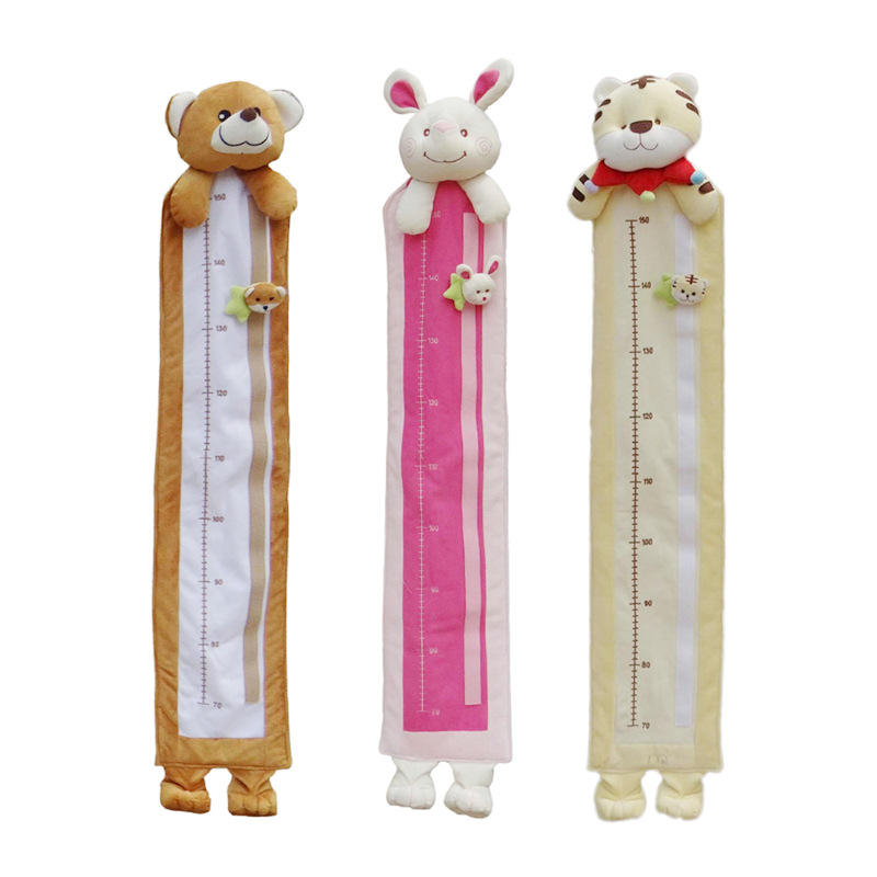 kids and baby plush growth chart