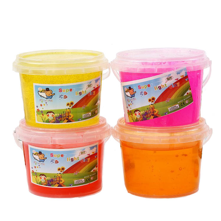 W034 2020 Trending Product Slime Charms Toy Plastic Wholesale Manufacturer Barrel O Kids Slime