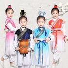 Children's Chinese Clothing Three-character Kindergarten Performance Ancient Kids Costume