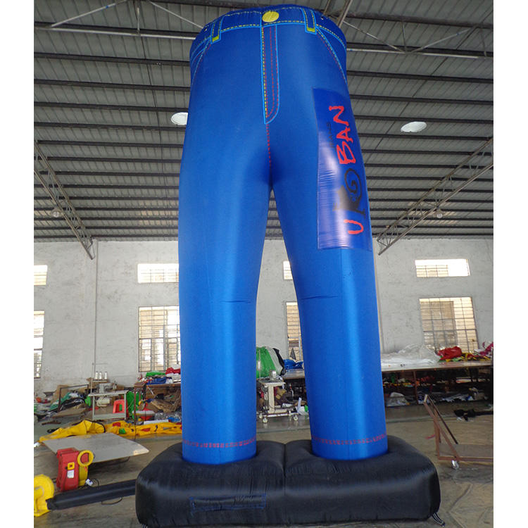 Advertising Unique Design giant inflatable pvc pants for promotion or display