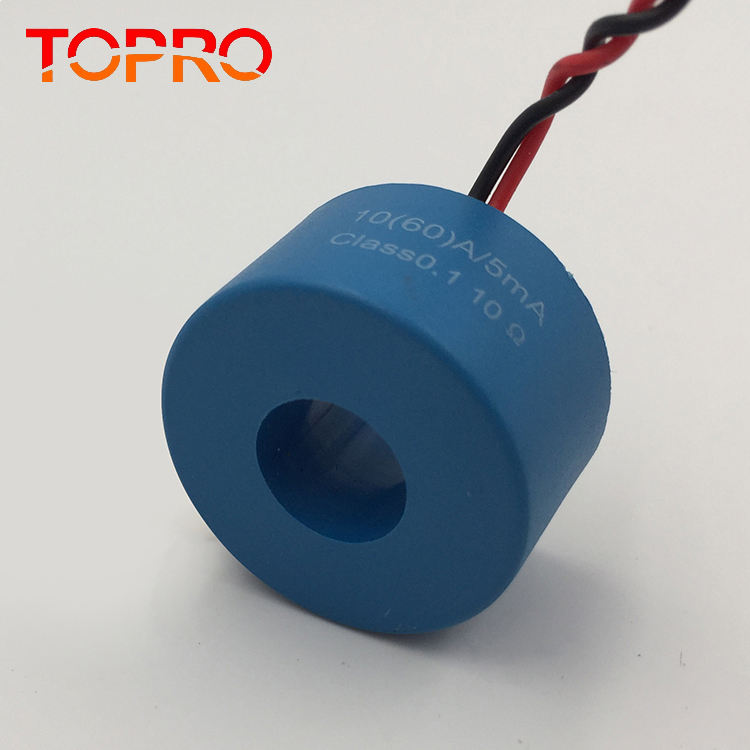 C-10 Ring type 60A 80A 100A 120A high precision 0.5/0.1 /0.05 Class DC immune Current transformer For Electronic energy meter