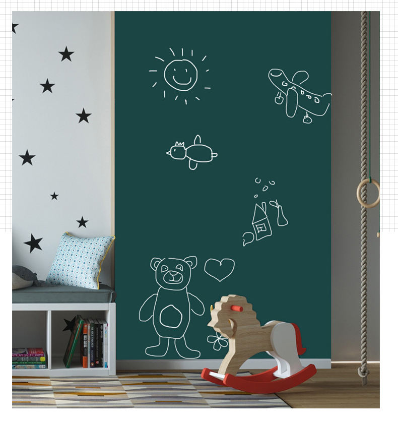 Magnetic Blackboard Magnetic Green Chalkboard Wall Sticker