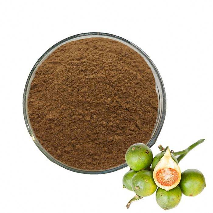 Factory supply high quality of betel palm/areca nut extract in Bulk