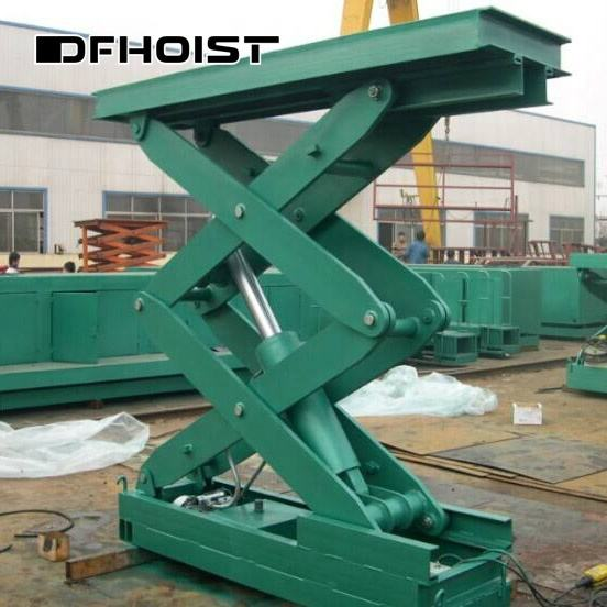 Fixed Mini Tilting Car Scissor Lift Machine Platform