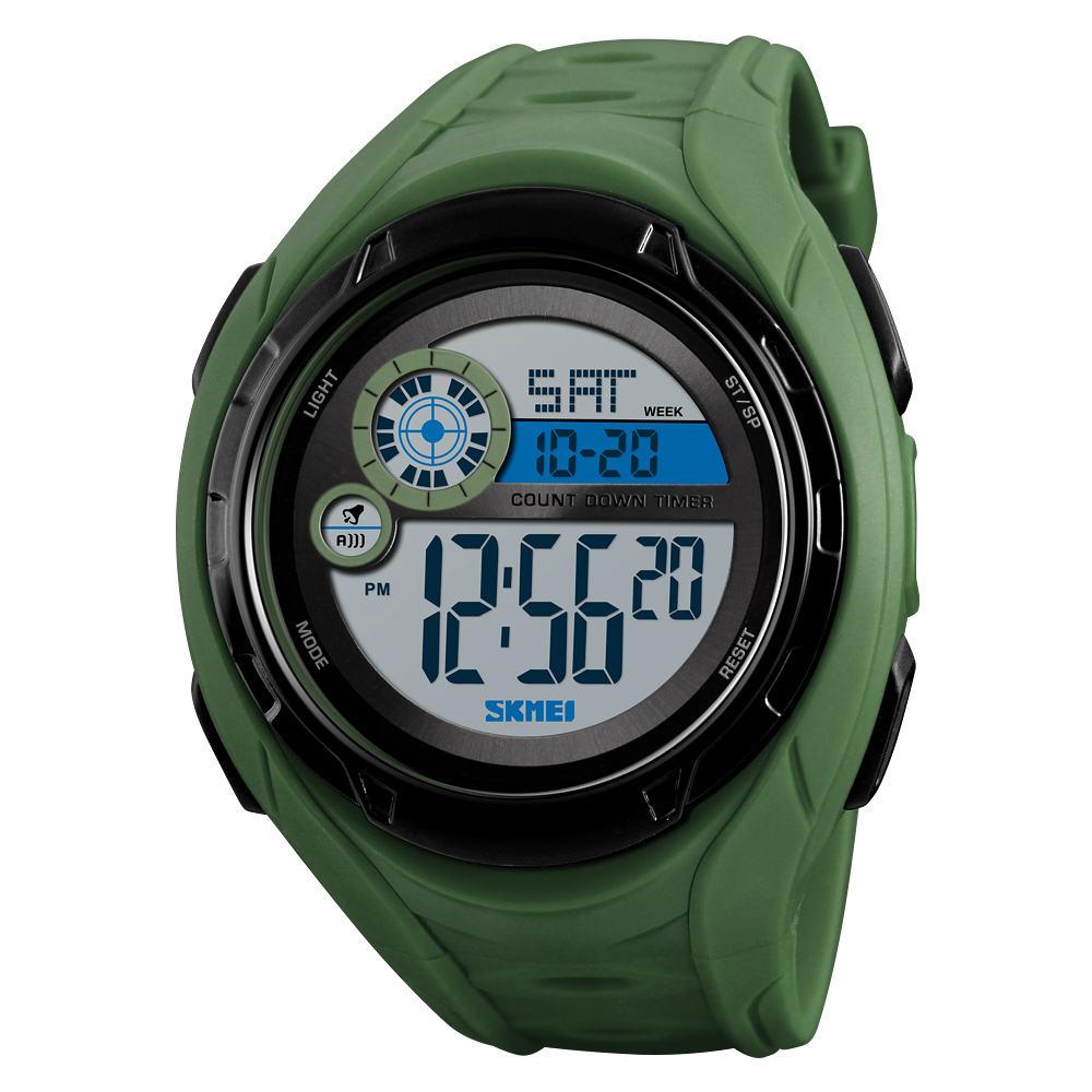 New Skmei 1470 Men's Watch Sports 50 Meter Waterproof digital alarm clock Watch Display Watch