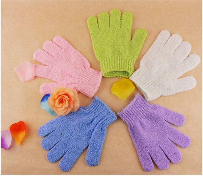 Moisturizing Spa Skin Care Cloth Bath Glove Exfoliating Gloves Body body bath gloves