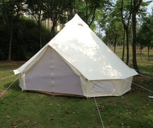 fire resistant 3/4/5/6m dia bell tent for outdoor camping