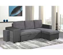 Modern folding living room sofa cum bed with storage
