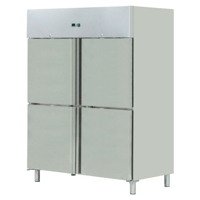 4 door Commercial Stainless Steel Freezer Refrigeration/Chiller & Refrigerator BN-UC1300R4H