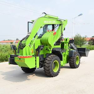 2.5 ตัน BACKHOE LOADER WZ30-25 BACKHOE LOADER