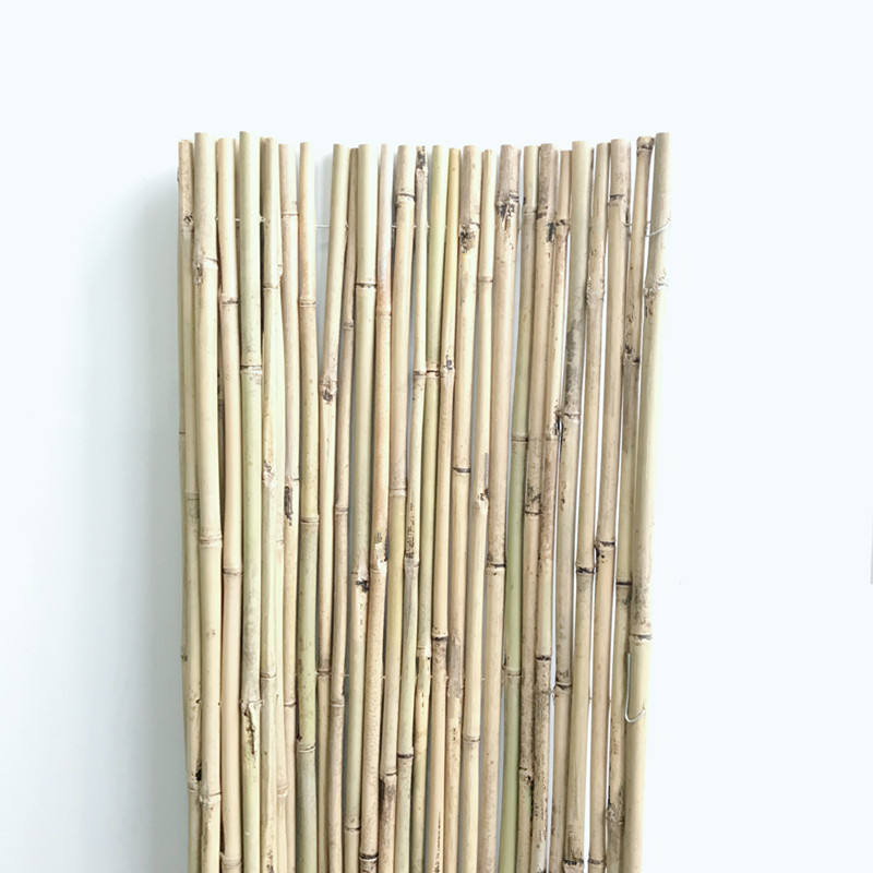Garden Natural Rolled Bamboo Fence panel