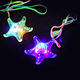 New Led Starfish Necklace / Led Star Pendant For Kids
