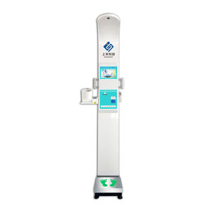 fat bmi scale for clinic new design medical 500kg bmi ultrasonic measuring height weight and blood pressure scale