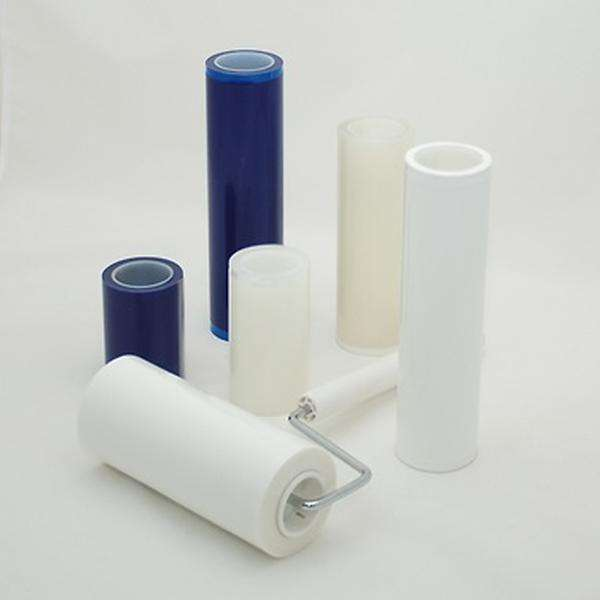 18 Meter Industrial LDPE Sticky Roller Lint Roller For Dust Removing