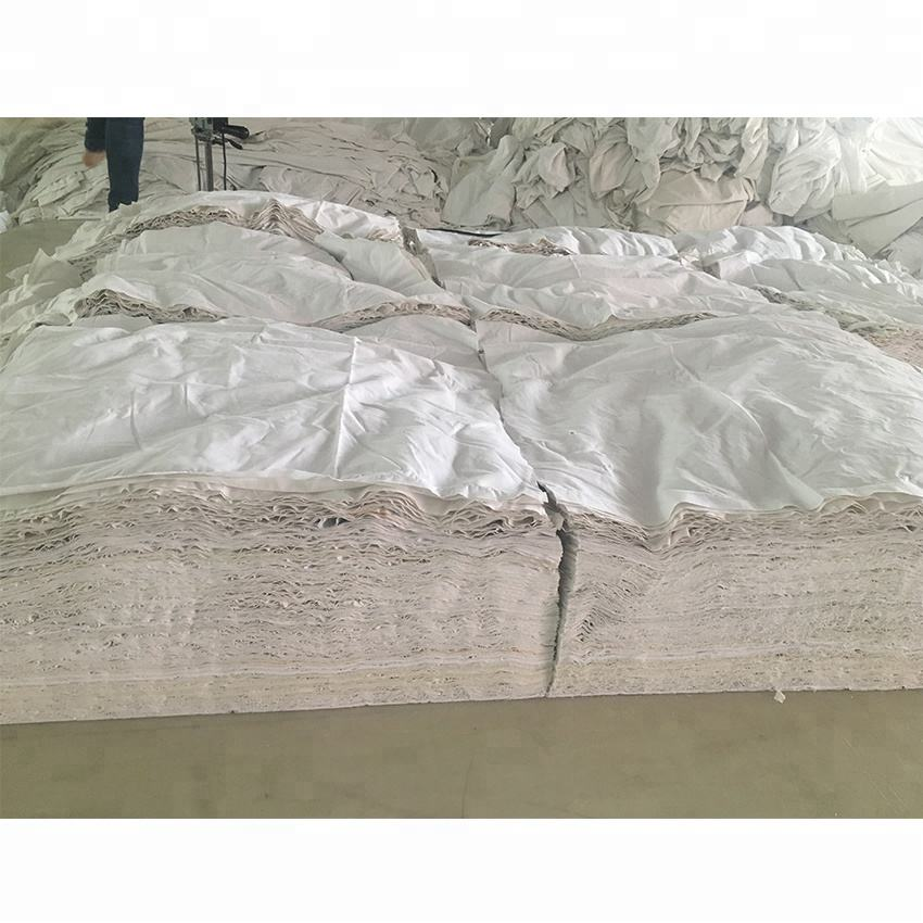 Industrial Cleaning cotton bedsheet rags for industrial wiping oil rags