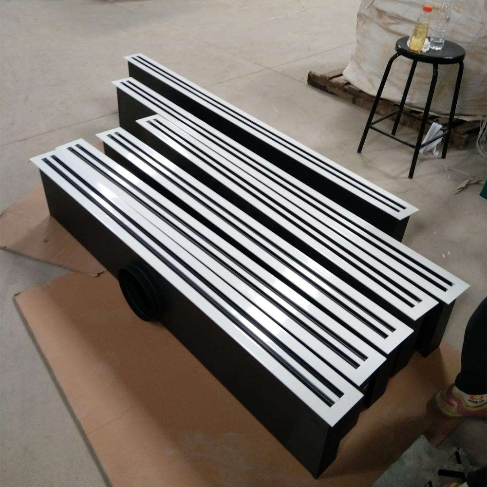 HVAC system ventilation Supply air grille Floor vent linear slot air diffuser