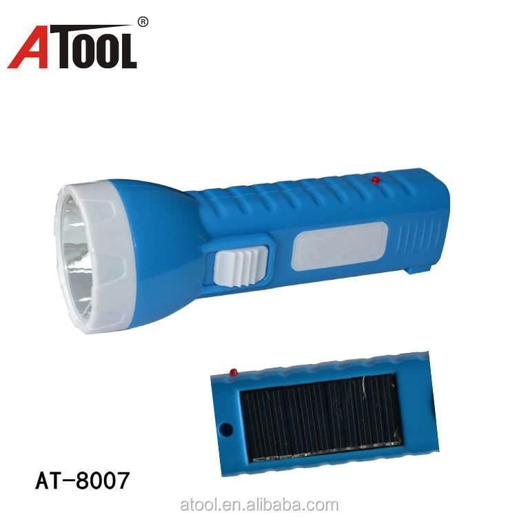 ATOOL AT-8007 ABS plastic led torch năng lượng mặt trời <span class=keywords><strong>đèn</strong></span> <span class=keywords><strong>pin</strong></span> sạc