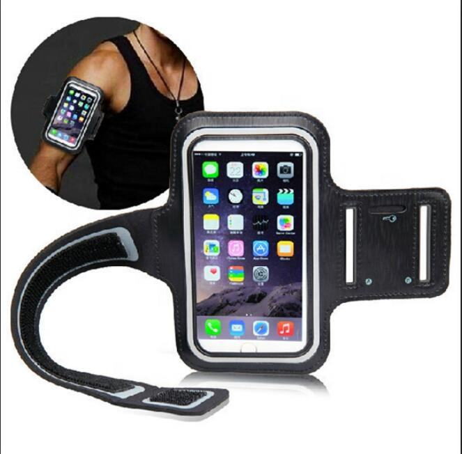 Ultra Light Sport Armband Adjustable Belt Waterproof Wristband Running Arm Band Case Key Hole Cell Phone Accessories for iPhone