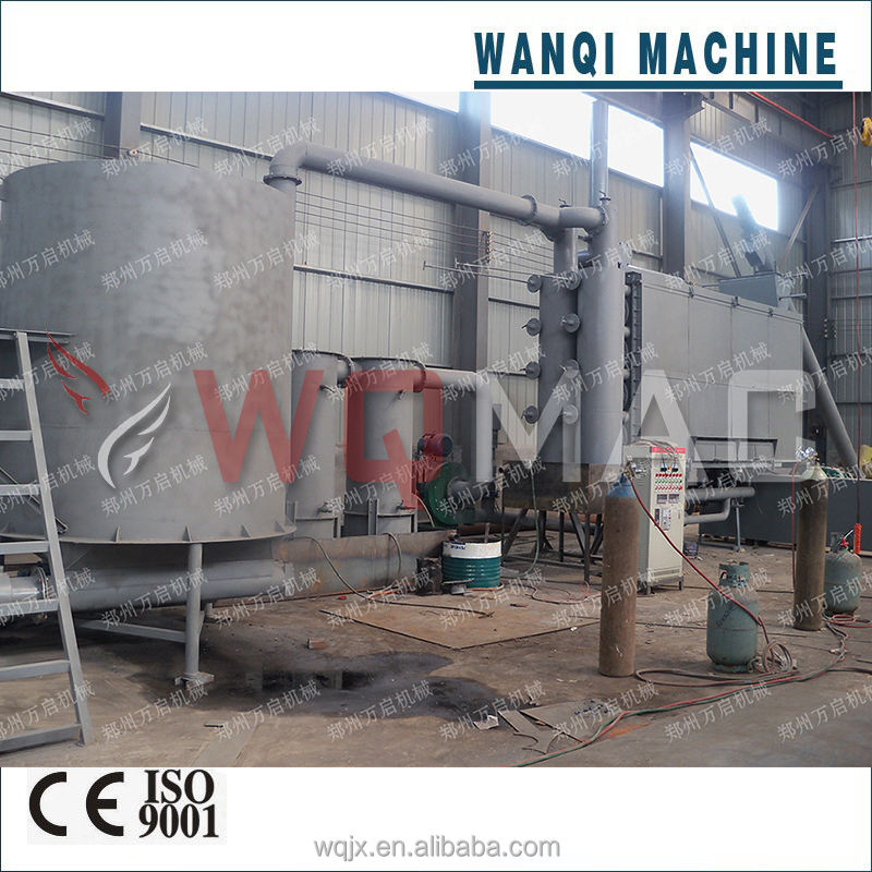 Wanqi Professional Activated Carbon Making Machine Charcoal Process Equipment 2016 New Machinery