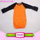 2016 Fall Boutique Girl Clothing Newborn Baby icing raglan baby gown Night Gown Baby ruffle Long Sleeve cotton knit nightgowns
