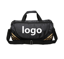 custom logo men women gym bag sports waterproof nylon travel duffle bag