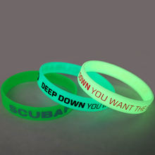 Wholesale Personalized Customization Silicone Fluorescent Bracelet
