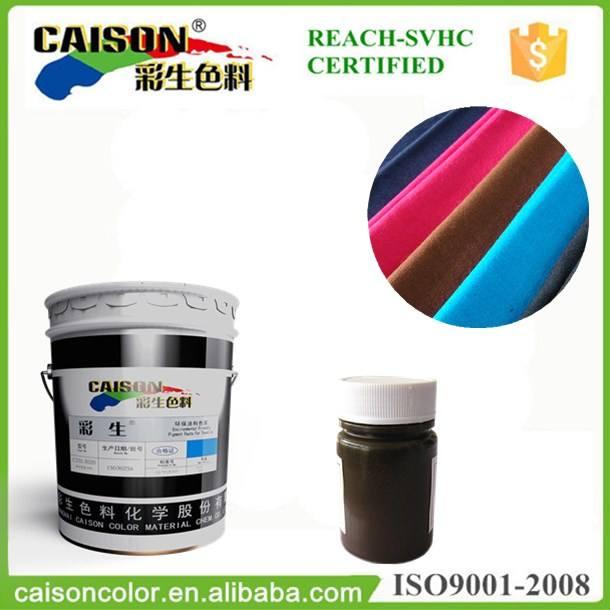 Directamente emulsiones para teñido teñido pigmento prendas