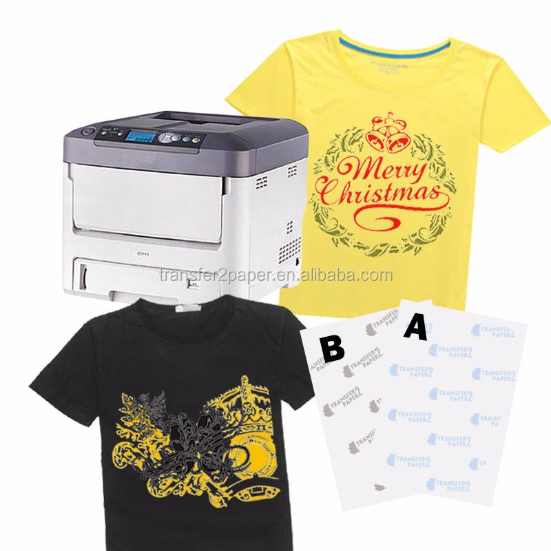 No Cut Self Weeding Laser Heat Transfer Paper for Cotton Fabric