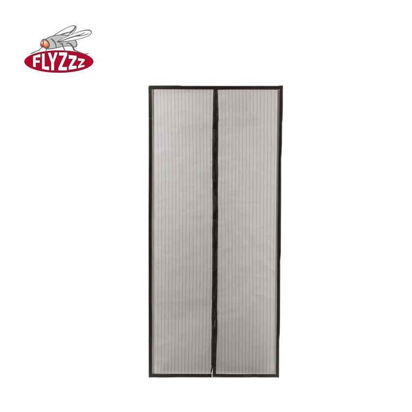 Interior use anti-mosquito magnet net screen curtain doors