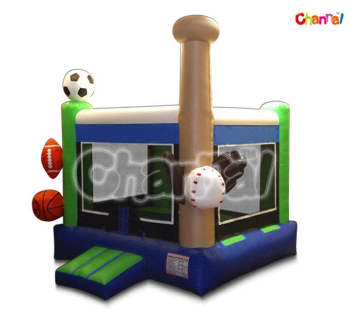 sport rimbalzo 3d interni gonfiabili per i bambini
