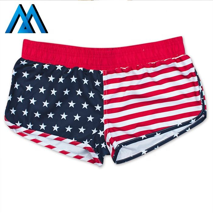 Sublimation Flag Running Shorts