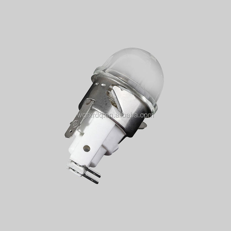 X555-41H UL TUV E14 BBQ light bulbs sockets holder high temperature steamer microwave Oven lamp