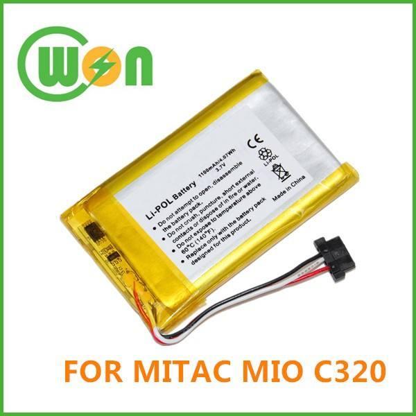 E3MT07135211 Battery for Mitac Mio P360 P560 P565 P//N 02739004E P560t