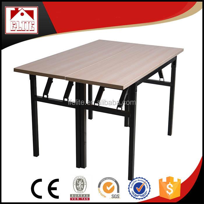 Белый ПВХ Банкетный стол, большой Ресторан Таблица EZ-66B
