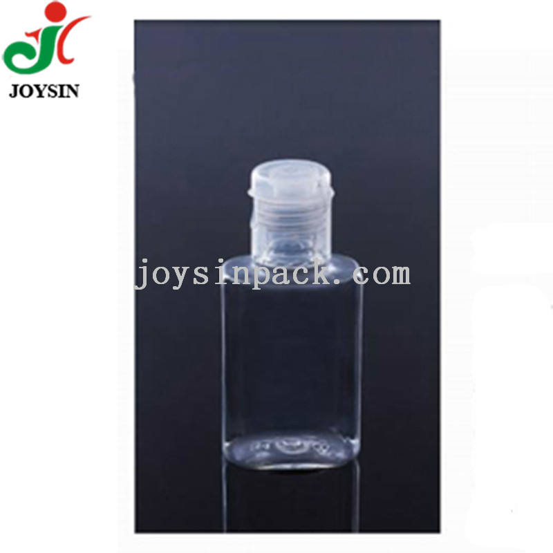 15/415 Neck Small Toner Lotion Packaging Container BPA Free Clear Plastic PET Oval 20ml Sample Bottle for Cosmetics Skincare