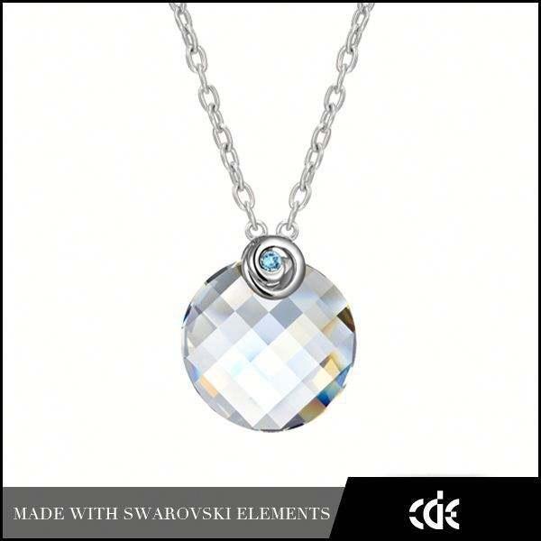 cde nouvelle tendance de mode en <span class=keywords><strong>gros</strong></span> bijoux en cristal pendentif rond bijoux au vietnam