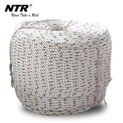 NTR polyamide braided 12 strand marine ship safety rope manufactures