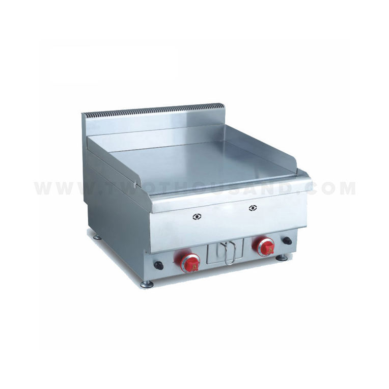 TT-WE212B สแตนเลส Commercial Counter Top Gas Griddle