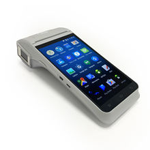 5.1 android fingerprint pos billing/ticketing machine Z91 all in one touch screen pos card reader