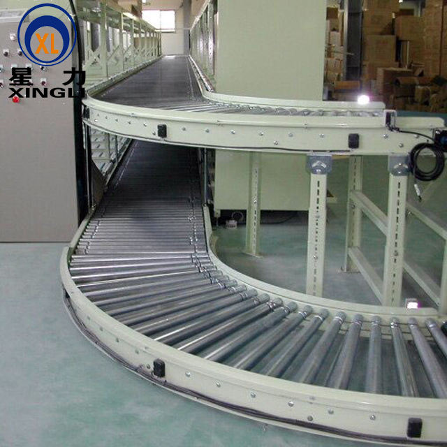 Gravity roller conveyors/material handling conveyor system/logistic conveyor system