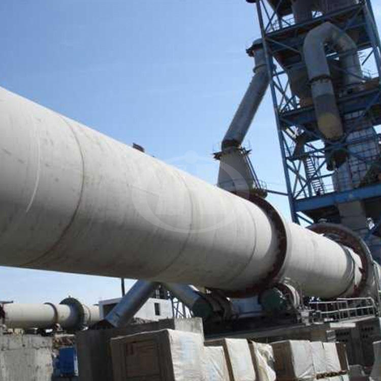 Active Equipment Rotary Kiln Lime Furnace Making Machinery 100tpd Cement Production Line
