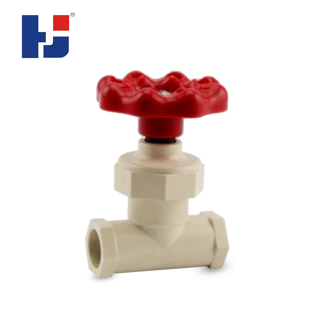 HJ manufacturer cpvc ASTM D2846 STANDARD water supply angle check valves