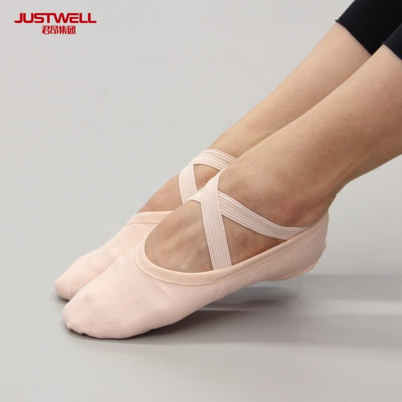 Hot Wholesale Stretch Canvas Ballet Pointe Shoes