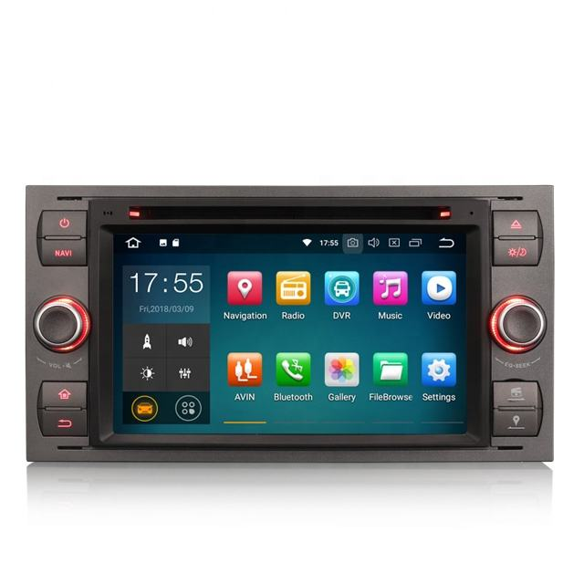 "Erisin ES3866F 7 ""Android 8.1 4g WiFi TUPFEN TPMS GPS auto radio <span class=keywords><strong>dvd</strong></span> <span class=keywords><strong>cd</strong></span>-player für FORD"